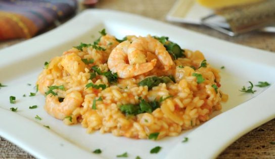 risotto-de-camarones
