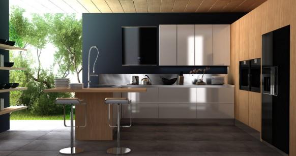 cocina-mueble-roble-blanco-laca