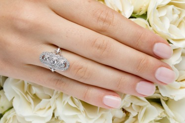 Anillo diamantes Mery Satt 1