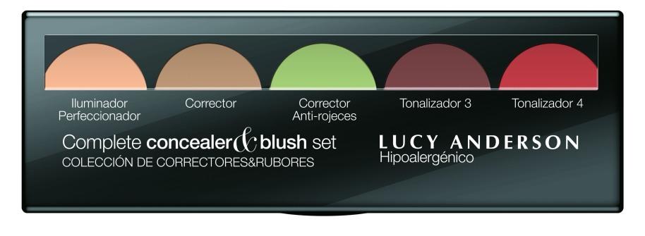 complete concealer&blush set verano2019