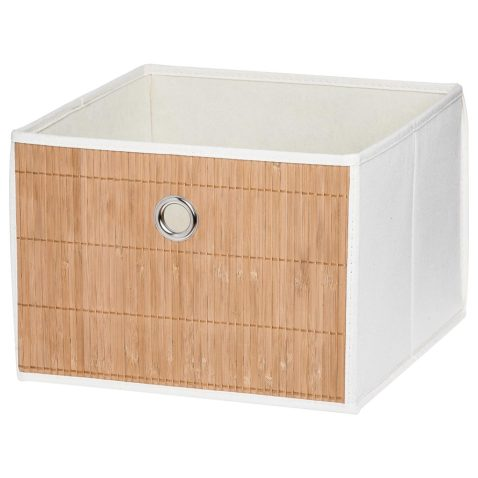Caja bambú Canvas L $2.490
