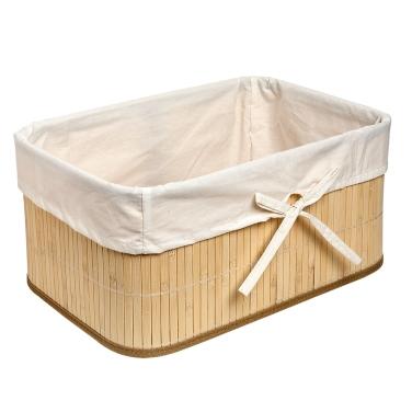 Canasto bambú M $6.990